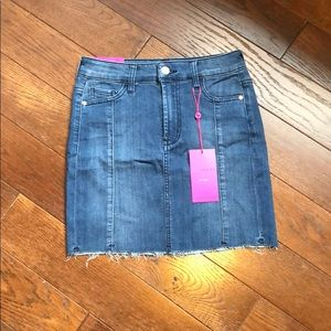 Jean skirt with tags, Size 1
